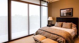 Sheer window treatments for your view.