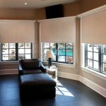 Automated window treatments that reflect your mix of modern and traditional styles.