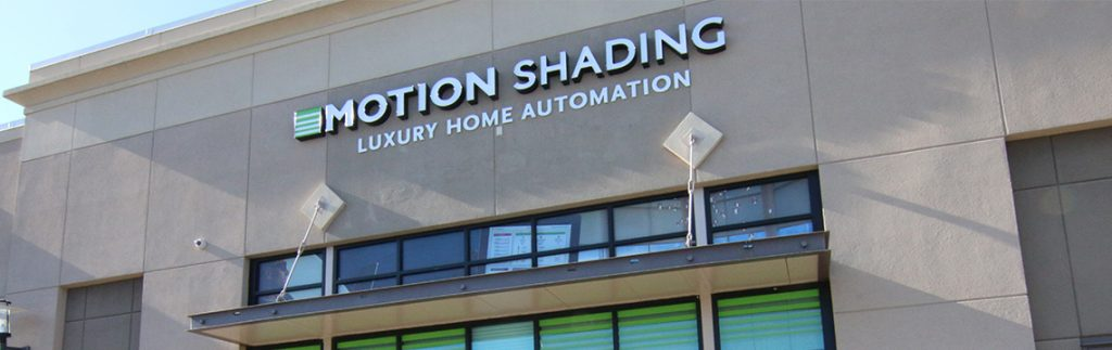 Storefront for Motion Shading in Lindbergh Plaza Atlanta Georgia