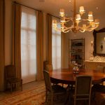 Automated window treatments match your decor.