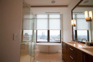 Modern Privacy Bathroom Shades Waldorf Astoria
