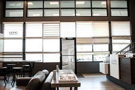 Hunter Douglas at Motion Shading Showroom