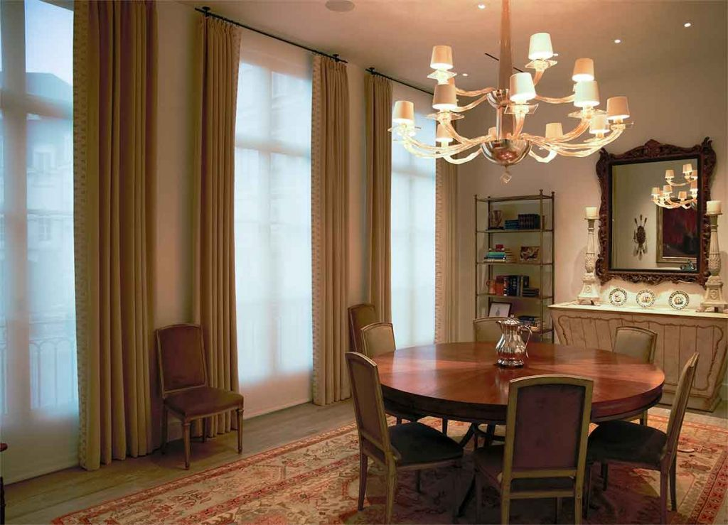 Luxury Window Treatments for Traditional home styles