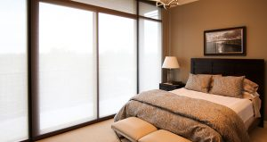 Sheer automated window shades Astoria Atlanta