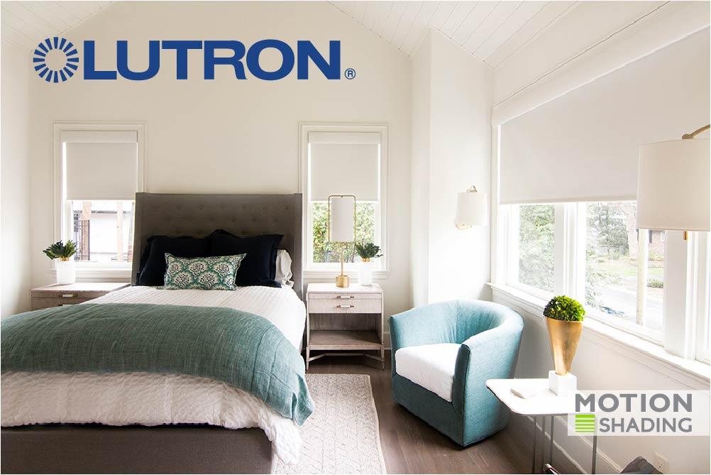 Lutron automated window treatments Atlanta GA