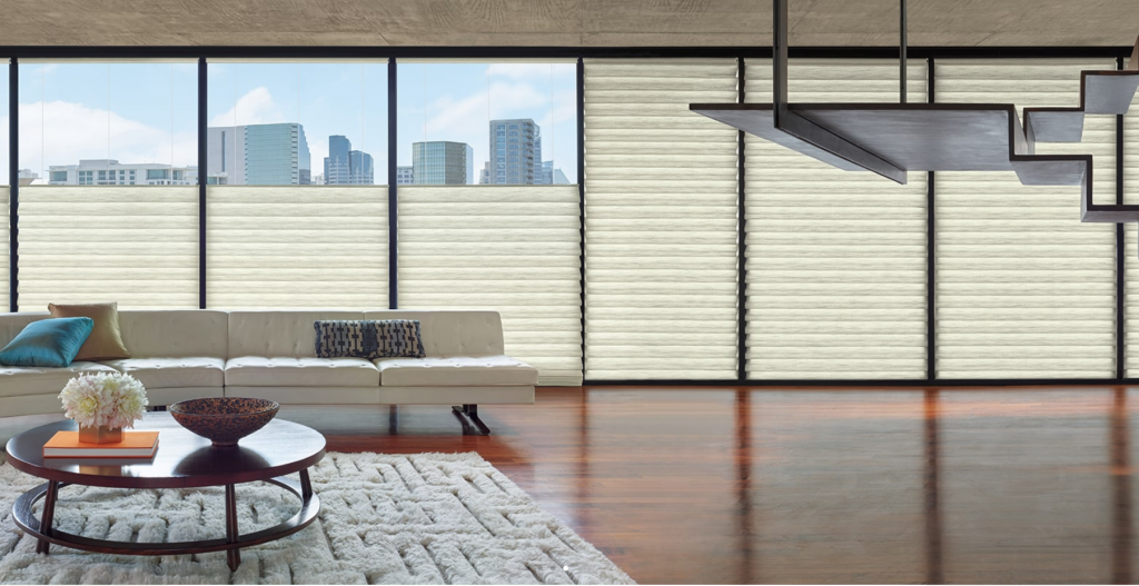 Hunter Douglas roman-shades-top-down-bottom-up