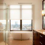 High-rise Atlanta GA Privacy automated window shades